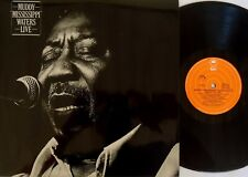 "Muddy Waters-Muddy ""Mississippi"" Waters Live LP 1979 Epic Australia ‎– ELPS 3971"