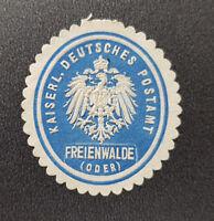 Siegelmarke Vignette Kaiserl. Deutsches Postamt Freienwalde Oder (8016-4)