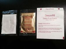 500P  DreamMi GOLD Premium Detox Foot Patch Powder Pack + Adhesive Plaster Tape