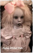 Maggie, by Slightly Wicked Dolls, OOAK Creepy Horror Halloween Dolls