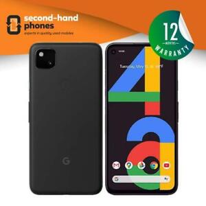 Google Pixel 4a (2020 4G Model) 128GB Unlocked Just Black, Barely Blue