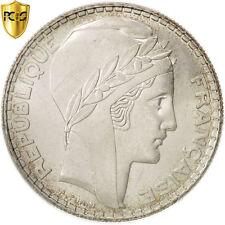 [#96535] France, Turin, 20 Francs, 1938, Paris, PCGS, MS64, Silver, KM:879