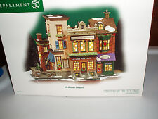 DEPT 56 CHRISTMAS IN THE CITY 5TH AVENUE SHOPPES NIB *Still Sealed*