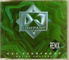 DJ Company - Hey Everybody (Out Of Control) (Remix) - CDM - 1994 - Eurodance 3TR