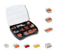 105 Stück WAGO 221 / 2273 Serie Box Sortiment Set Verbindungsklemme