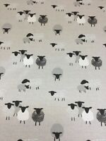 Metropolis Interiors, Sheep Natural, Cotton Fabric, Upholstery/Curtains/Cushion