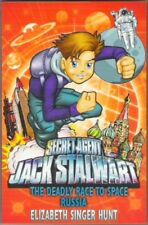 JACK STALWART 8 THE DEADLY RACE TO SPACE: RUSSIA Elizabeth S Hunt New! paperback
