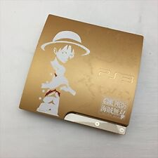Playstation 3 PS3 one piece GOLD EDITION HDD 320GB CEJH-10021 USED F/S EMS JAPAN
