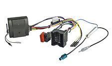 Radio Adapter CITROEN & PEUGEOT CAN Bus Lenkrad Fernbedienung mit JVC Radio