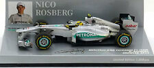 Minichamps Mercedes GP F1 Team Showcar 2012 - Nico Rosberg 1/43 Scale