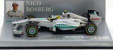 Minichamps mercedes gp F1 team car 2012-nico rosberg échelle 1/43