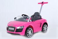 ROLLPLAY Fahrzeug Kinderfahrzeug Kinder Auto Audi R8 Spyder pink