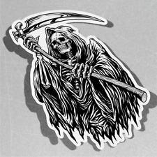 Inked Grim Reaper Vinyl Sticker Decal Window Car Van Bike 3446