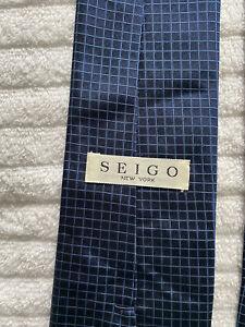Seigo Blue Box Tie