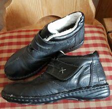 Hush Puppies HALBSCHUHE Leder Schuhe schwarz Gr.36 w.NEU