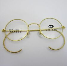 44mm Antique Vintage Round Wire Rim Eyeglass Frame Spectacles Rx 2012