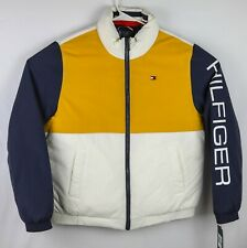 Tommy Hilfiger NWT $225 Mens Sz Large Multi Color Puffer...