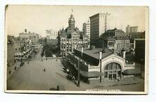 Canada MB Manitoba - Winnipeg - Market Square - Meyers RPPC Photo Postcard