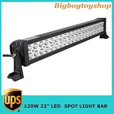 "120W 22""SPOT LED LIGHT BAR LAMP 4WD VEHICLE OFFROAD UTV SUV JEEP 12V-24V EPISTAR"