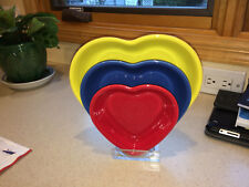 RACK FOR 3 FIESTA HEART BOWLS.  PLEXIGLASS.  SHOW YOUR RINGS!