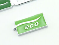 Eco Emblem Logo Badge auto aufkleber Metall car Sticker LPG Eco Emblem Eco neu