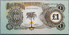 New listing Biafra One Pound P-5a 1968-1969 Au-Uncirculated