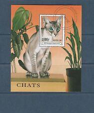 Togo bloc  faune chat      de 1997   num:  314  oblitéré