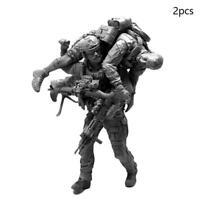 2pcs 1/35 1/35 Brand new  Resin U.S. Navy Seals Elite Soldier Resin