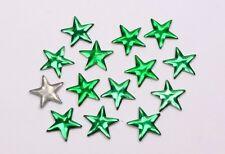 Hotfix Sterne 5mm 17 Farben Nailheads Bügel-Nieten Metall Studs zum Aufbügeln