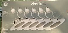 LED 6 Pack GE Dimmable Replacement Indoor Floodlight Recessed Downlight Daylight