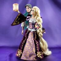 DISNEY RAPUNZEL AND FLYNN FAIRYTALE DESIGNER DOLL SET--NEW