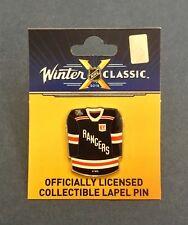 2018 NHL Winter Classic Citi Field New York Rangers Jersey Enamel Pin