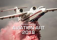 Aviation Art Wall Calendar 2018