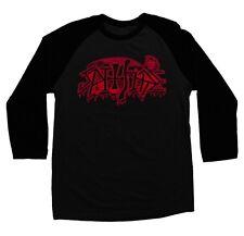 Spitfire Wheels Brutal 3/4 Raglan Shirt Black/Black Large