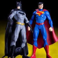 2PCS DC Super Action Figure Justice League Batman v Superman Hero Toy Collection