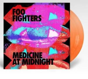Foo Fighters - Medicine At Midnight - Édition Limitée Orange Vinyle LP Neuf