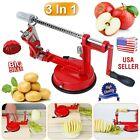3-in-1 Fruit Apple Peeler Corer Slicer Slinky Machine Potato Cutter Kitchen Tool