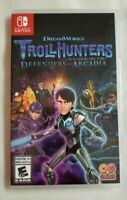 Troll Hunters: Defenders of Arcadia Nintendo Switch Fast Free Shipping Tested