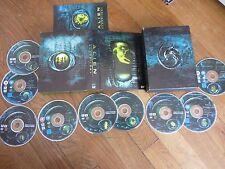 Coffret Alien quadrilogy avec Sigourney Weaver, 9DVD, SF/Horreur