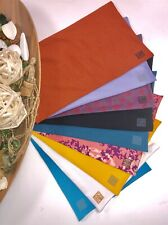 Pack of 9 Regular 8x10 MIX Fabric BOOK COVERS Stretchable Reusable Made in USA 3