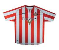 Sunderland 2005-07 Authentic Home Shirt (Excellent) XL Soccer Jersey