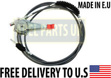 JCB PARTS - 3CX - THROTTLE CABLE ASSY. MADE IN EU FOR JCB MODELS (910/48800)