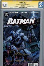 Batman 617 CGC 9.8 SS X3 Jim Lee Loeb Sinclair Williams Hush Catwoman Jason Todd