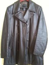 giacca di pelle nera GAS taglia L stagione inverno autunno c54ba01126c