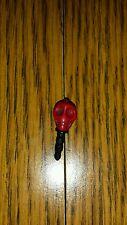 Red 3.5mm Cool Skull Anti Dust Earphone Jack Plug Stopper