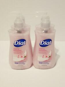 DIAL Liquid Moisturizing Hand Soap Wash 4 Lot Pack  Cherry Blossom - Brand New