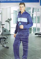 Herren-Trainingsanzüge mit Taschen aus Polyester für Fitness