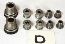 GENUINE SHIMANO  OCTALINK V2 TRIPLE CHAIN RING & CRANK BOLTS SET - ITEM D