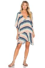 VIX by Paula Hermanny MOONLIGHT MAUD Coverup Beach Short Dress Large NWT $178 A