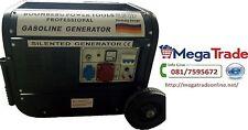Generatore con avviamento elettrico 2200W e motore 4 tempi con ruote